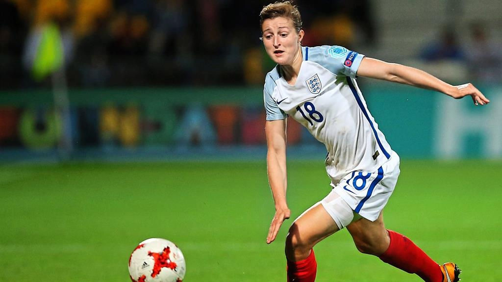 England's Ellen White ready for a final Euro push
