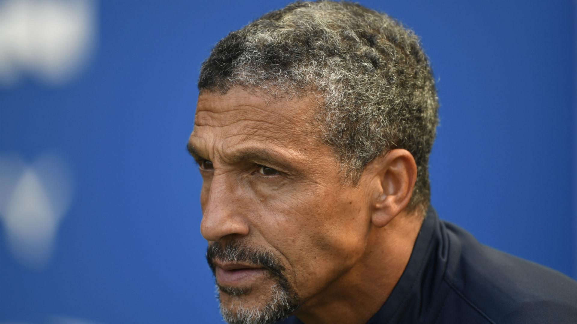 Brighton boss Hughton positive despite Manchester City defeat