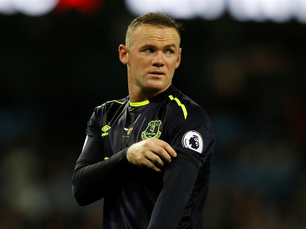 Everton striker Wayne Rooney coy over return to England side