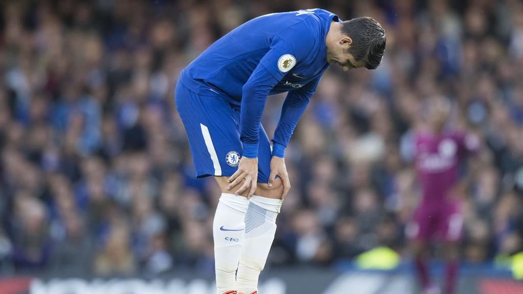 Chelsea star Alvaro Morata ruled out for six weeks with hamstring injury