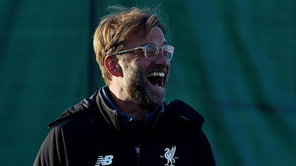 Jurgen Klopp returns to work at Liverpool after leaving hospital