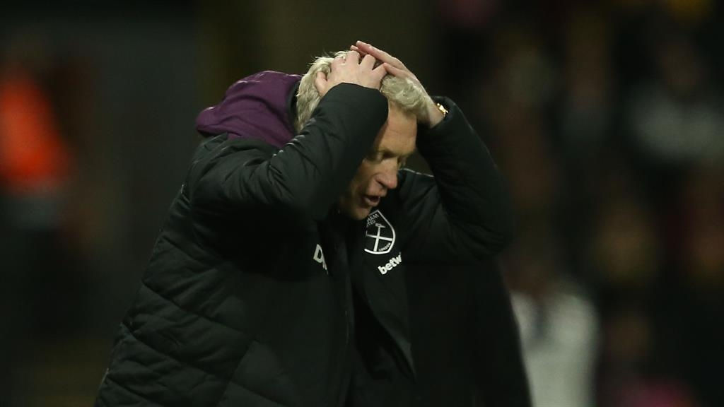David Moyes slams star names as West Ham lose his first game in charge