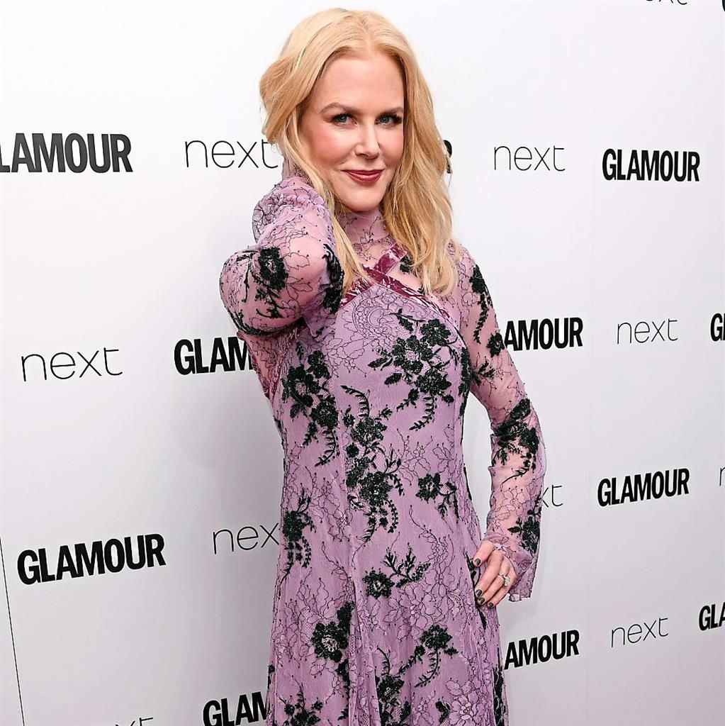 Nicole Kidman wins big at Glamour awards