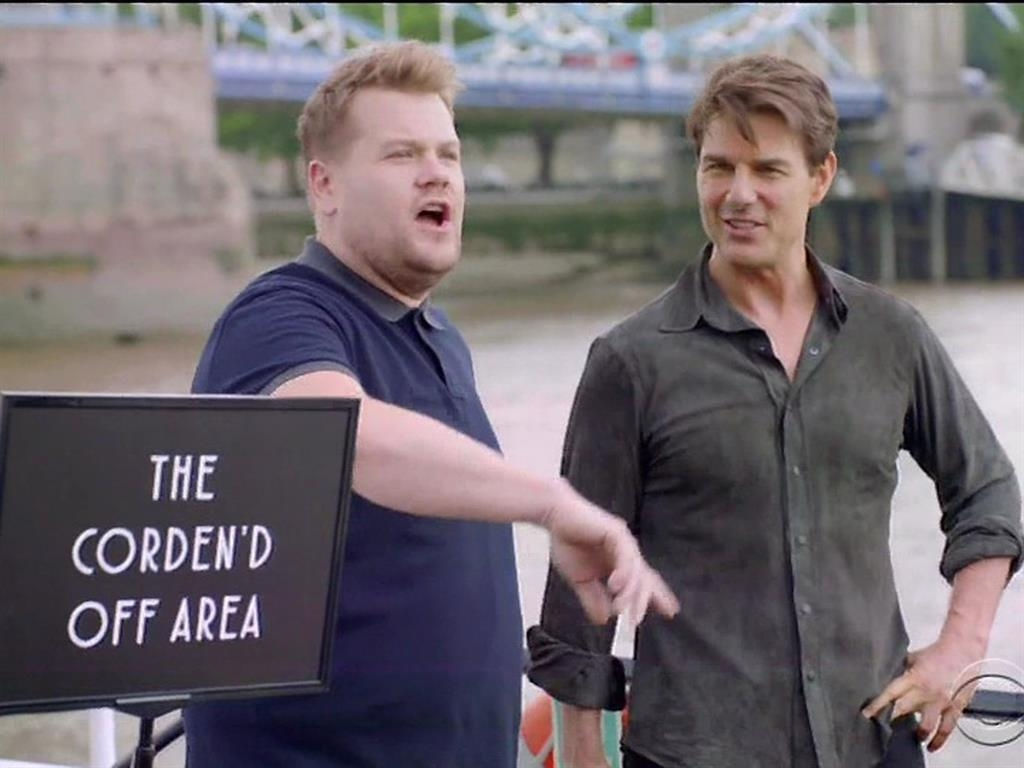 Corden won't stop shooting in London despite terror attacks