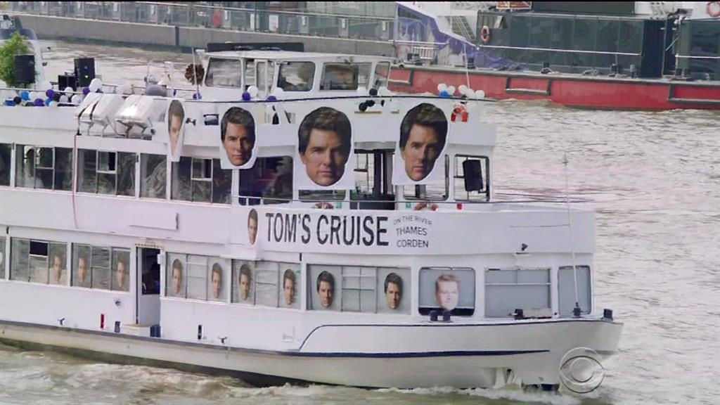 Tom Cruise, James Corden have a Risky Business venture on 'Tom's Cruise'