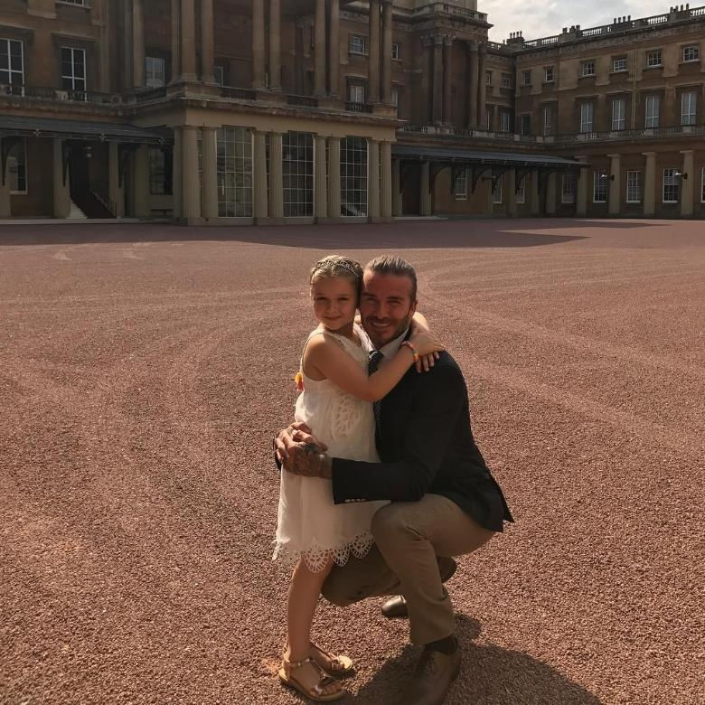 Only Harper Beckham could have a birthday party at Buckingham Palace