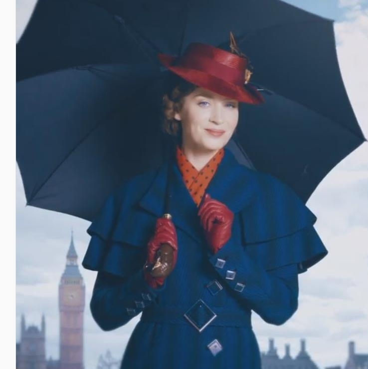 Emily Blunt is in spit spot form as Mary Poppins