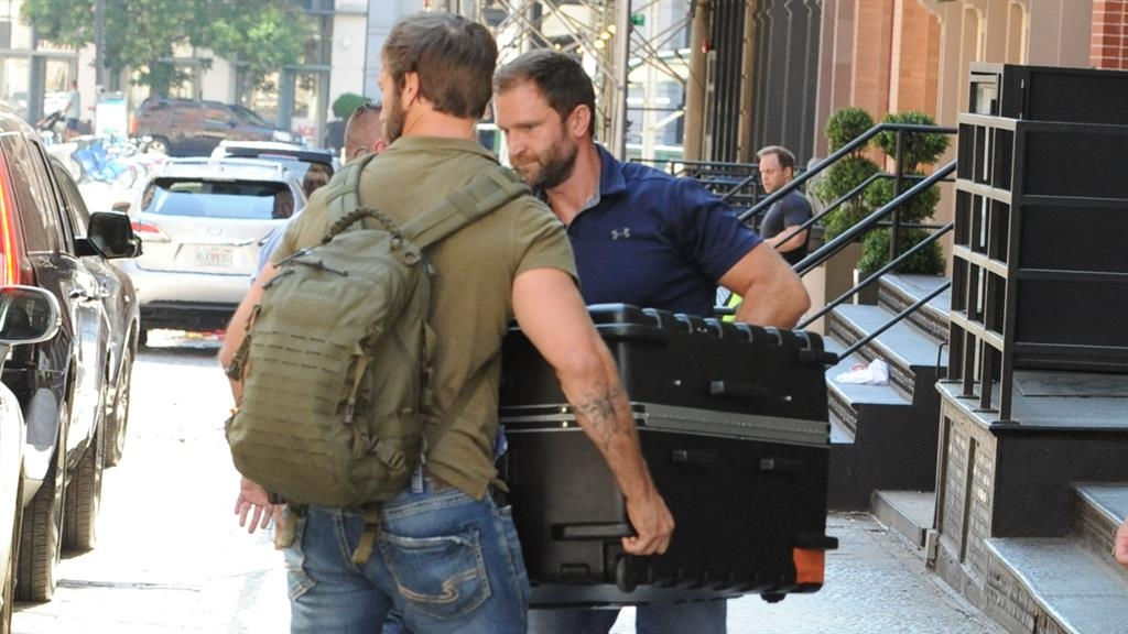 Taylor Swift Was Definitely Not Being Carted Around in a Giant Suitcase