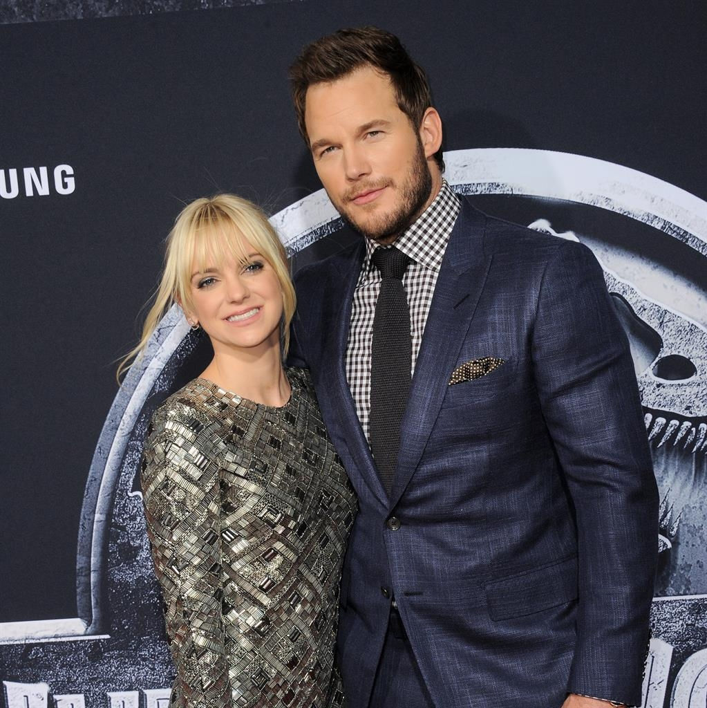 Chris Pratt and Anna Faris separating after 8 years of marriage