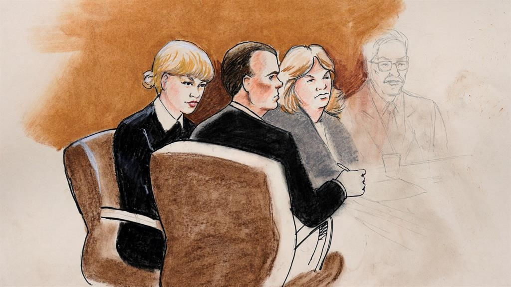 Proceedings end for day in Taylor Swift groping case