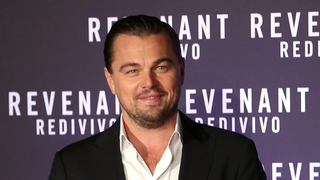 Lucky in love Leonardo diCaprio gets a new model