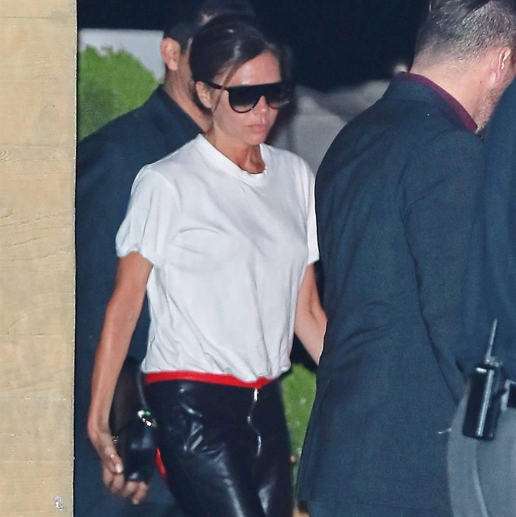 Victoria Beckham Tears Up Sending Son Brooklyn to College