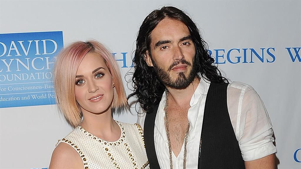 Russell Brand wants to be friends with Katy Perry