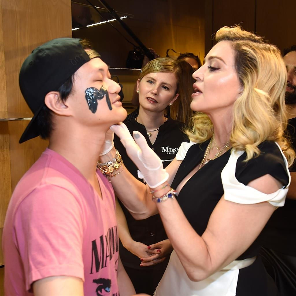 Madonna uses $600 mask on her butt to keep the skin soft