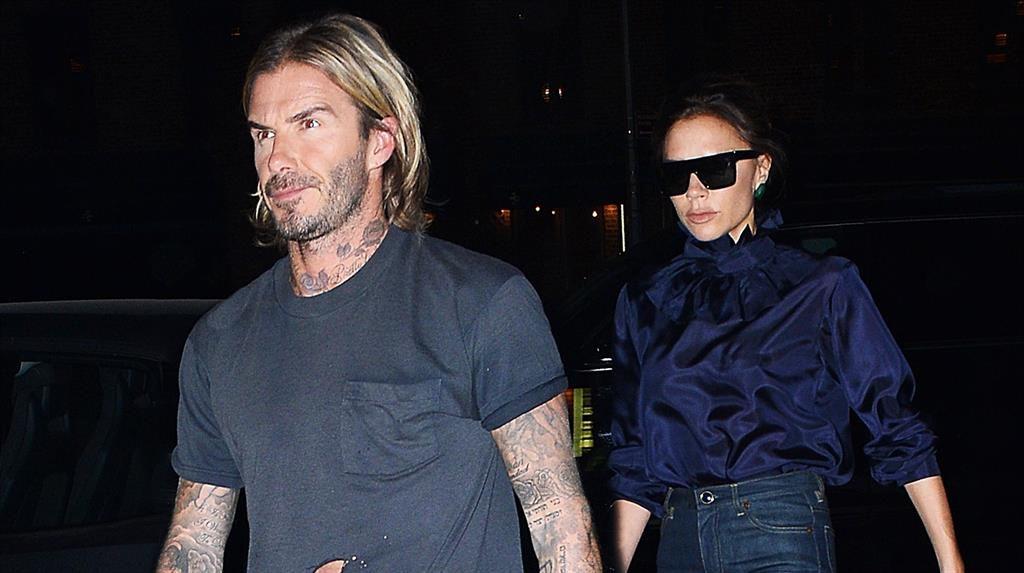 David Beckham takes a jab at Botox claims