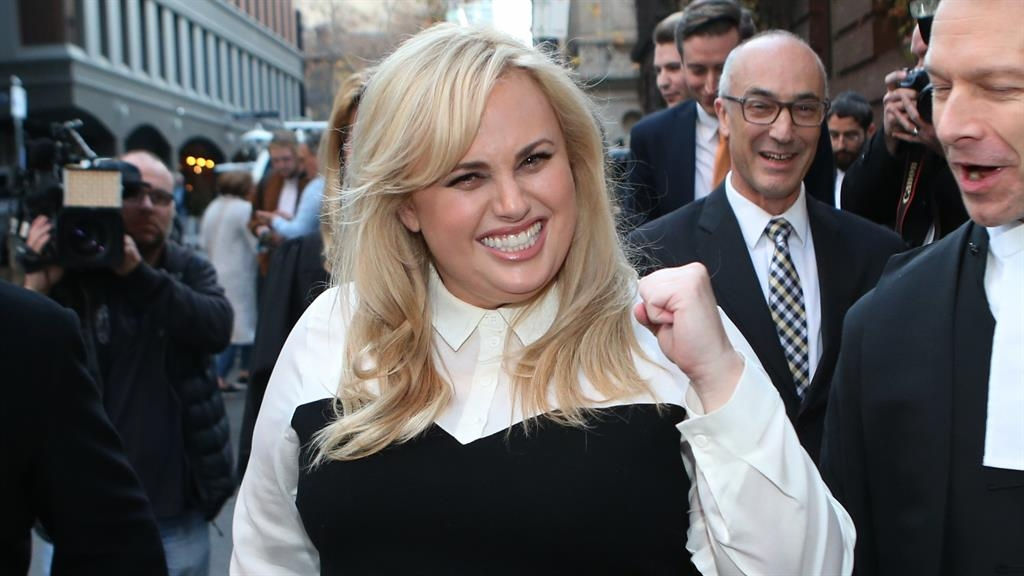 Rebel Wilson awarded £2.75m in damages