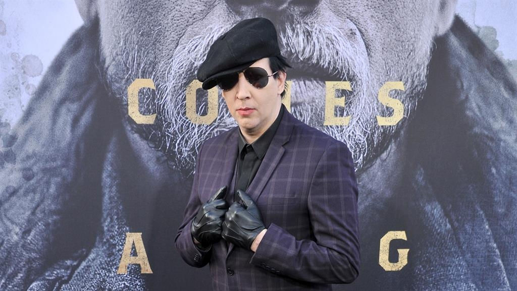 Marilyn Manson And Justin Bieber Feud Breaks Out Over T-Shirt Image Rights