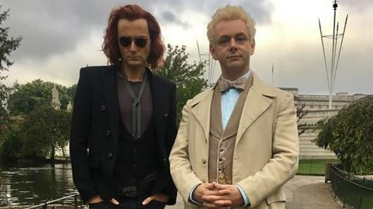 Good Omens: Neil Gaiman Reveals First Look at David Tennant's Demon