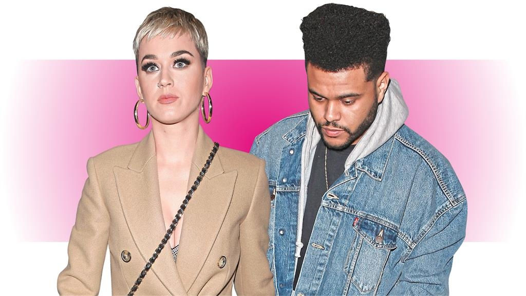 Are you getting ready for the Weeknd, Katy Perry?