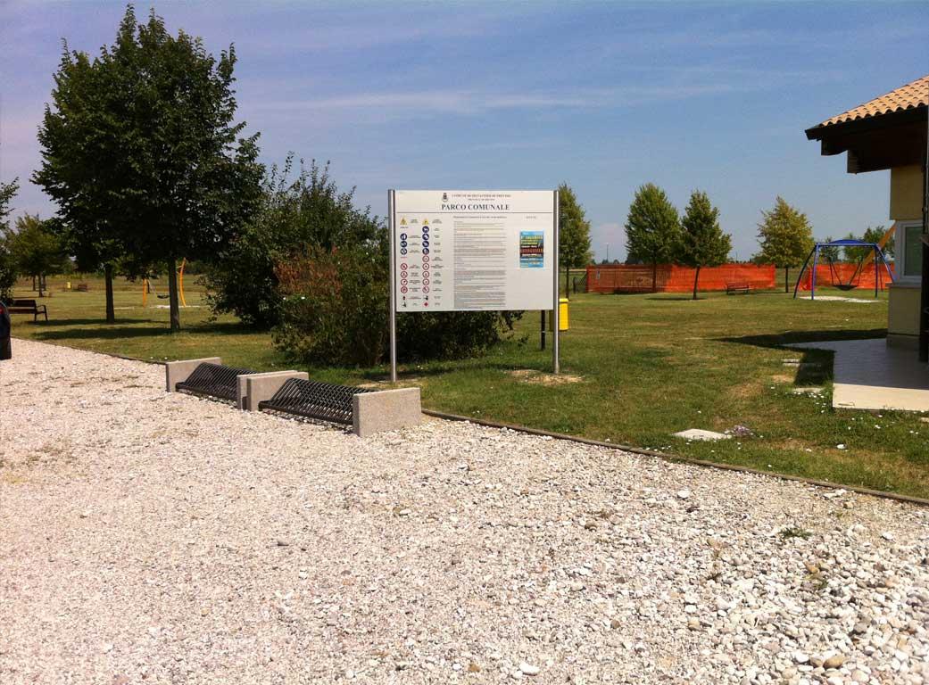 Parco di Via Einaudi a Monastier