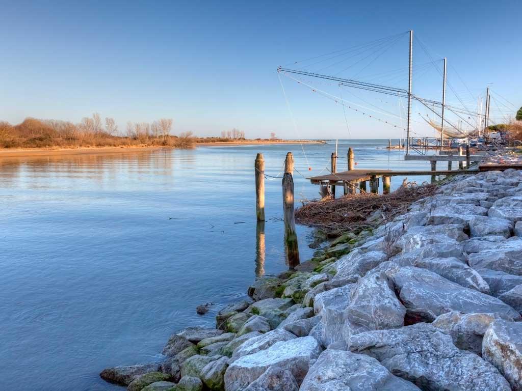 27#Laguna Sud di Venezia: Valli da pesca, Pallestrina, Chioggia