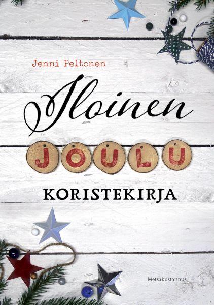 Jenni Peltola_Iloinen Joulukoristekirja_etukansi