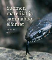 Suomen matelijat ja sammakkoeläimet_kansi_WEB