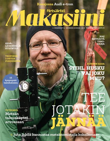 Metsälehti Makasiini 4/2020 kansi
