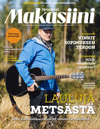 Metsälehti Makasiinni 6/2020 kansi