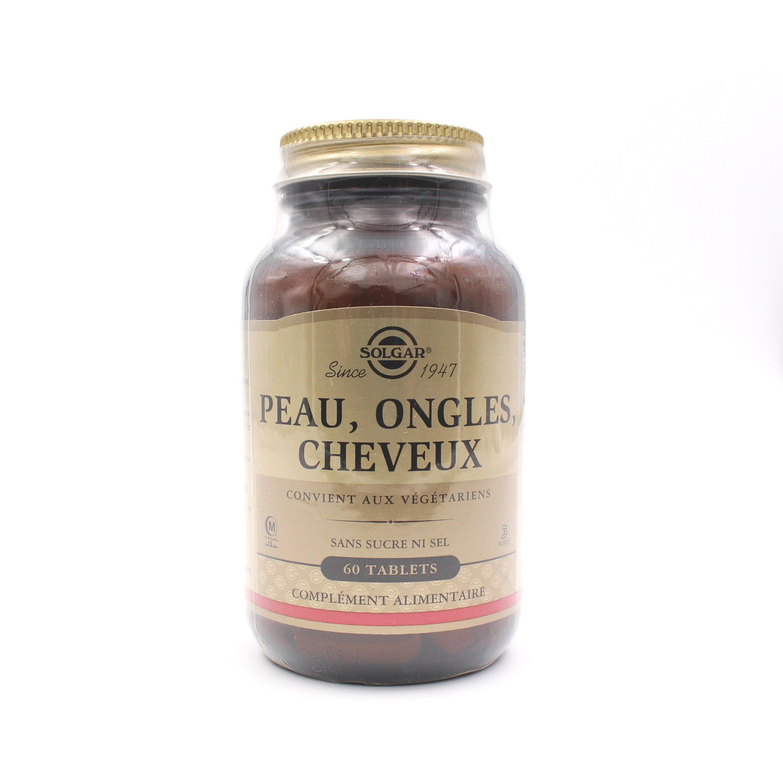 Complément alimentaire Peau, Ongles, Cheveux - 60