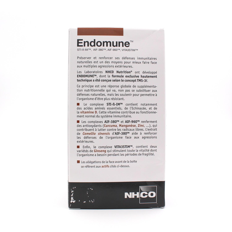 Endomune Défense immunitaire - 42 gélules de NHCO Nutrition