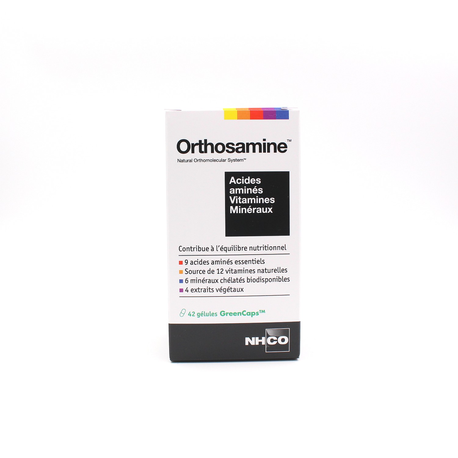 orthosamine acides amin s vitamines min raux 42 g lules de nhco nutrition. Black Bedroom Furniture Sets. Home Design Ideas