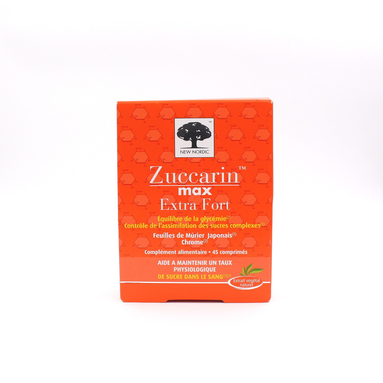 zuccarin max extra fort 45 comprim s de new nordic. Black Bedroom Furniture Sets. Home Design Ideas