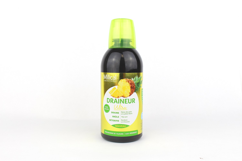 Drainaligne Boisson drainante à l'ananas - 500 ml de Milical