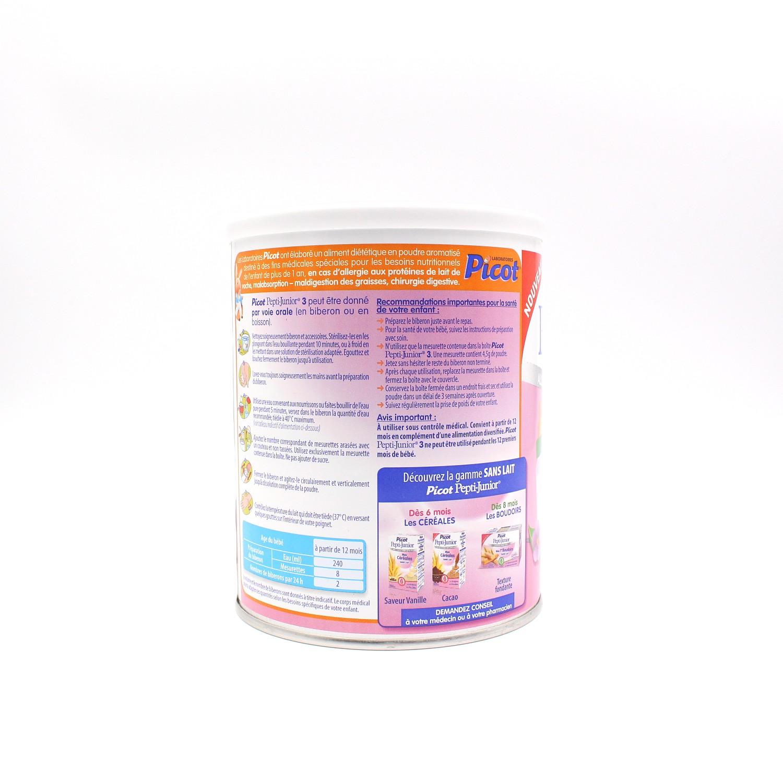 Pepti-Junior 3 - Allergie aux protéines de lait de vache - 460g de Picot