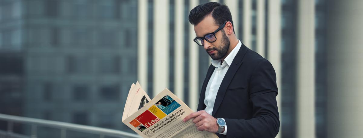 Abonnez-vous à L'Echo, le journal d'affaires belge francophone | L'Echo