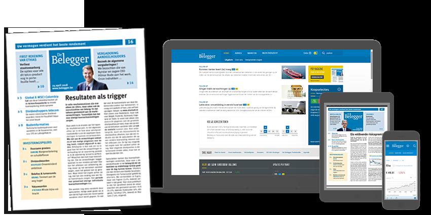 De Belegger digitaal + papieren magazine