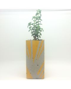 Ail and El Tall Planter Yellow