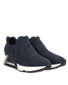 Ash Lifting Stone Navy Trainers