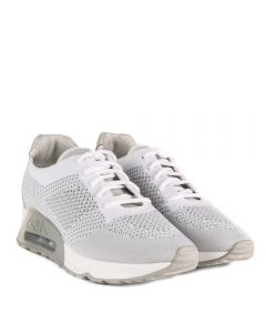 Ash Lucky White Marble Knit Trainer