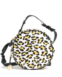 Bell and Fox Yellow Leopard Print Mini Canteen Bag