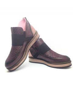 Maria Leon 1734 Wine Boot