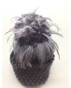 Davina Lynch Alpaca/Merino Wool, Hackle Feathers