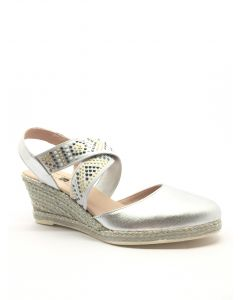 Jose Saenz 6081 Silver Cross Over Wedge