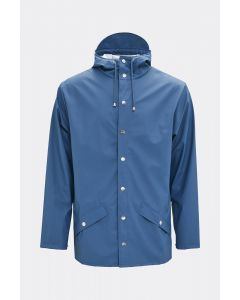 Rains Jacket Faded Blue Short