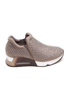 Ash Lifting Stone Taupe Trainers