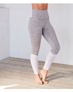 Manduka Highline Feather Grey Leggings