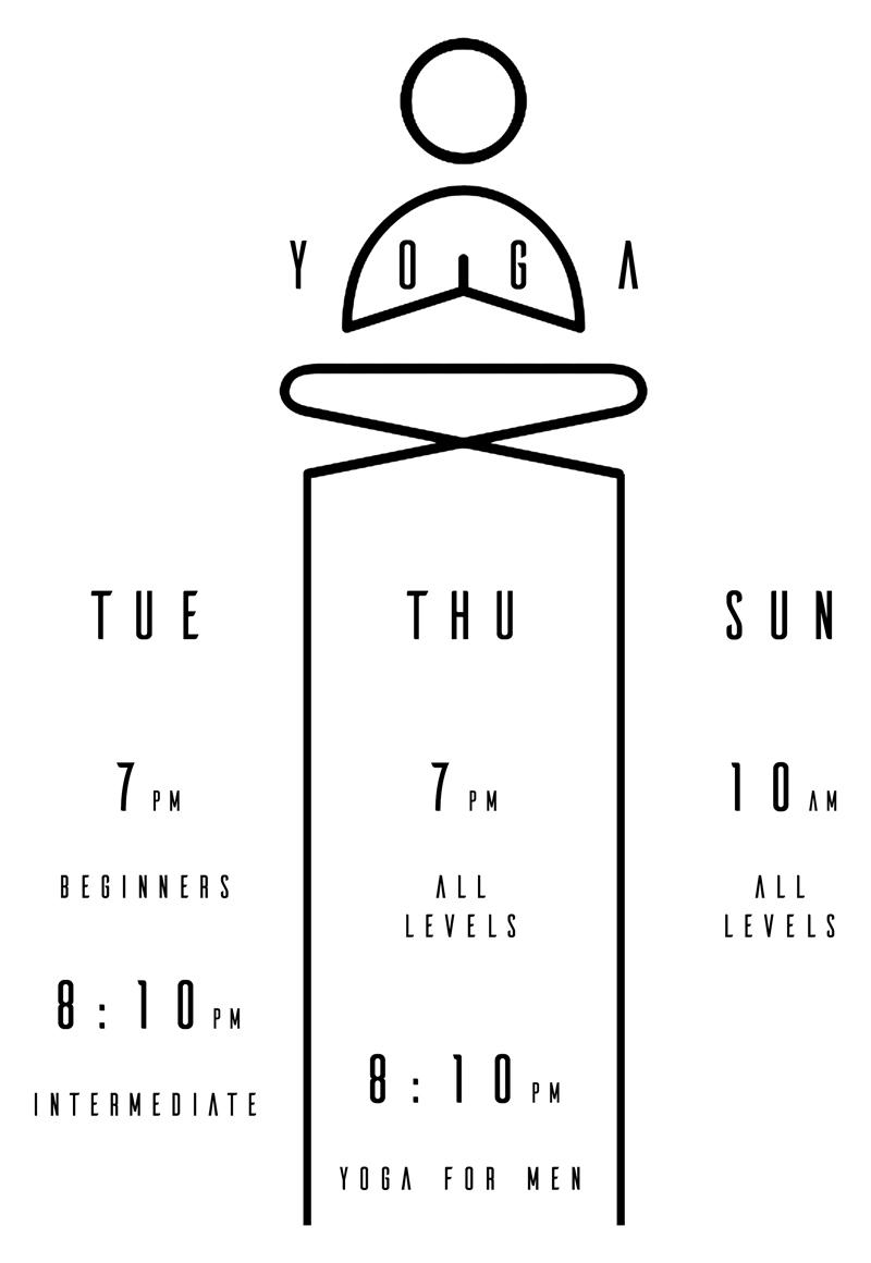 Yoga Timetable