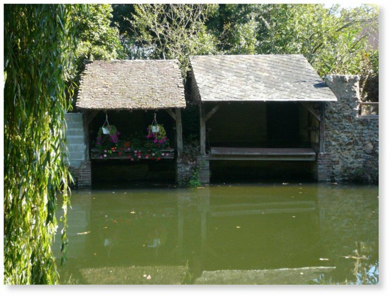 Brou Eure-et-Loir - Promenade de l'Ozanne