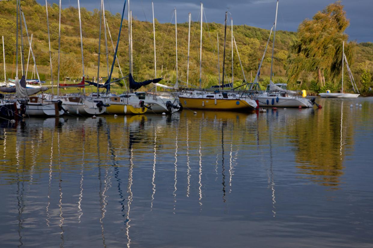 Patrick FORGET - www.sagaphoto.com - Le plan d'eau de Mézières-Ecluzelles
